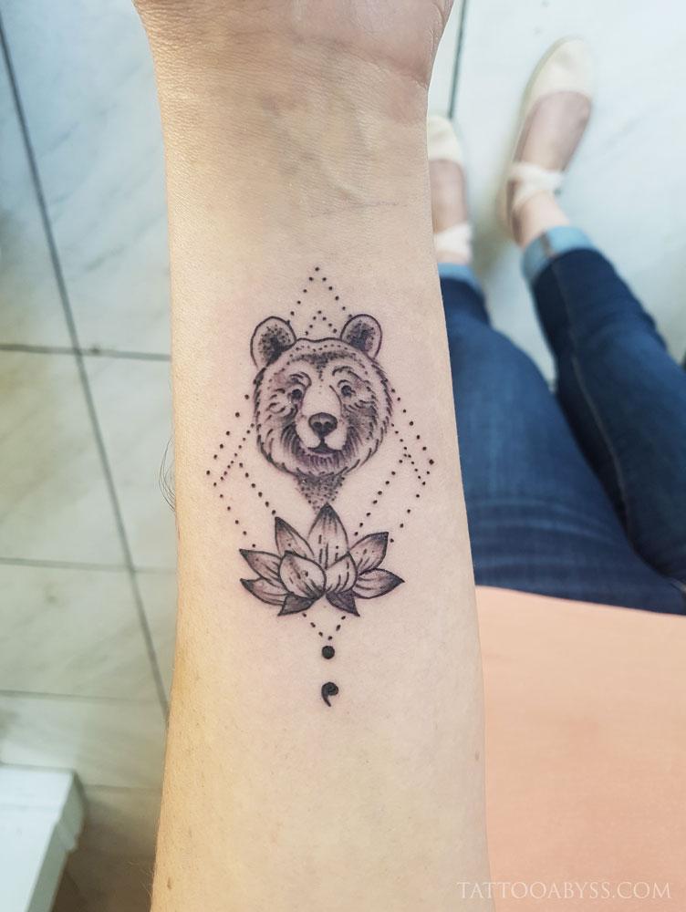 miniature-bear-abby-tattoo-abyss