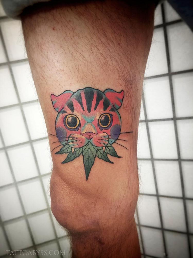 cat-weed2-devon-tattoo-abyss