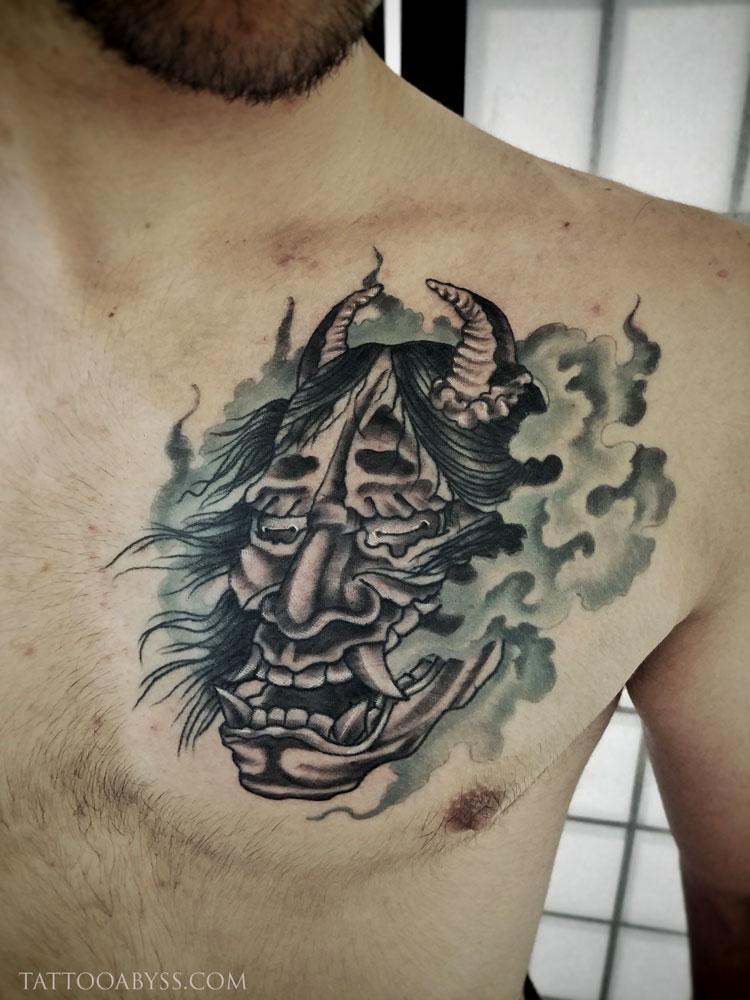 hannya-devon-tattoo-abyss