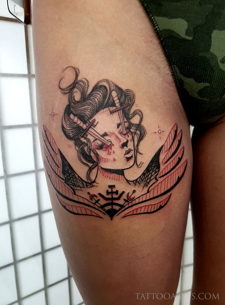 woman-flash-abby-tattoo-abyss