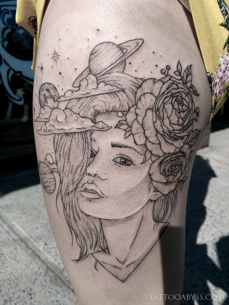 space-girl-camille-tattoo-abyss