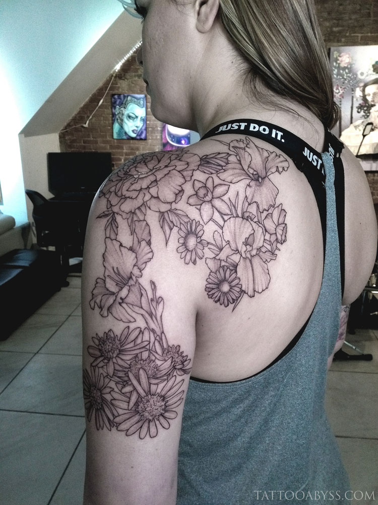 floral-half-sleeve-camille-tattoo-abyss