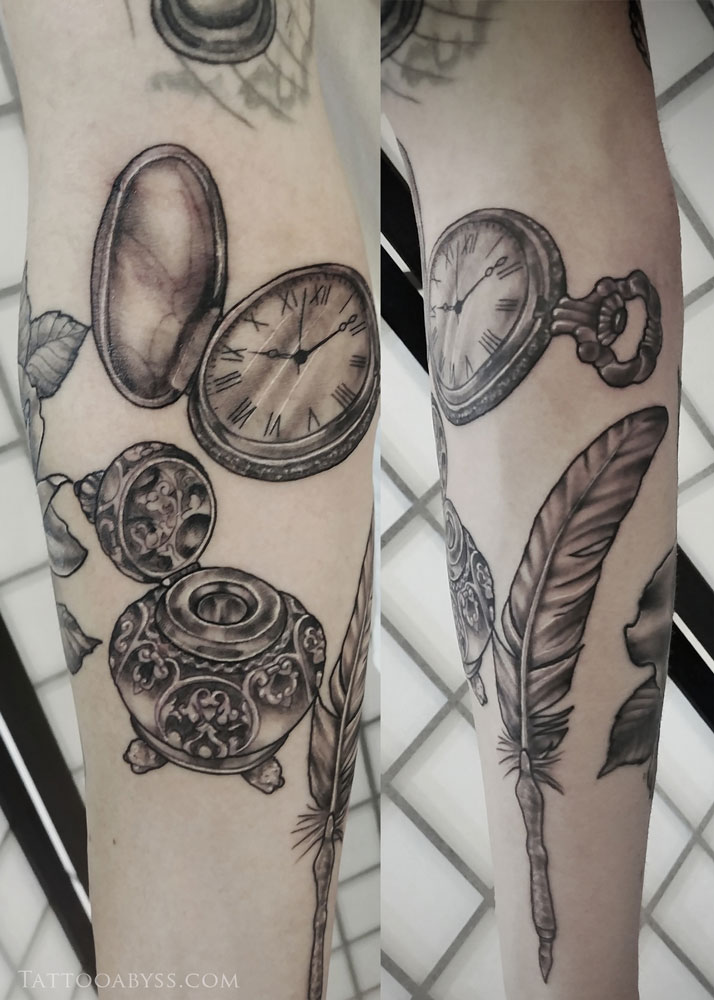 feather-ink-pot-devon-tattoo-abyss