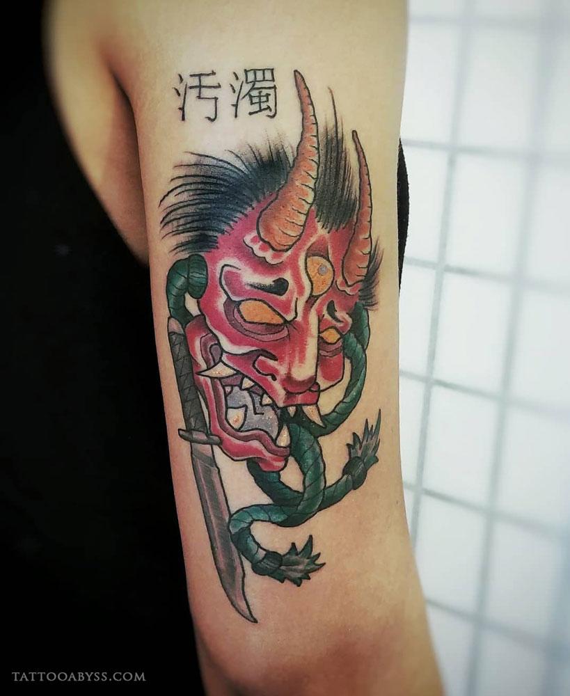 japanese-oni-devon-tattoo-abyss