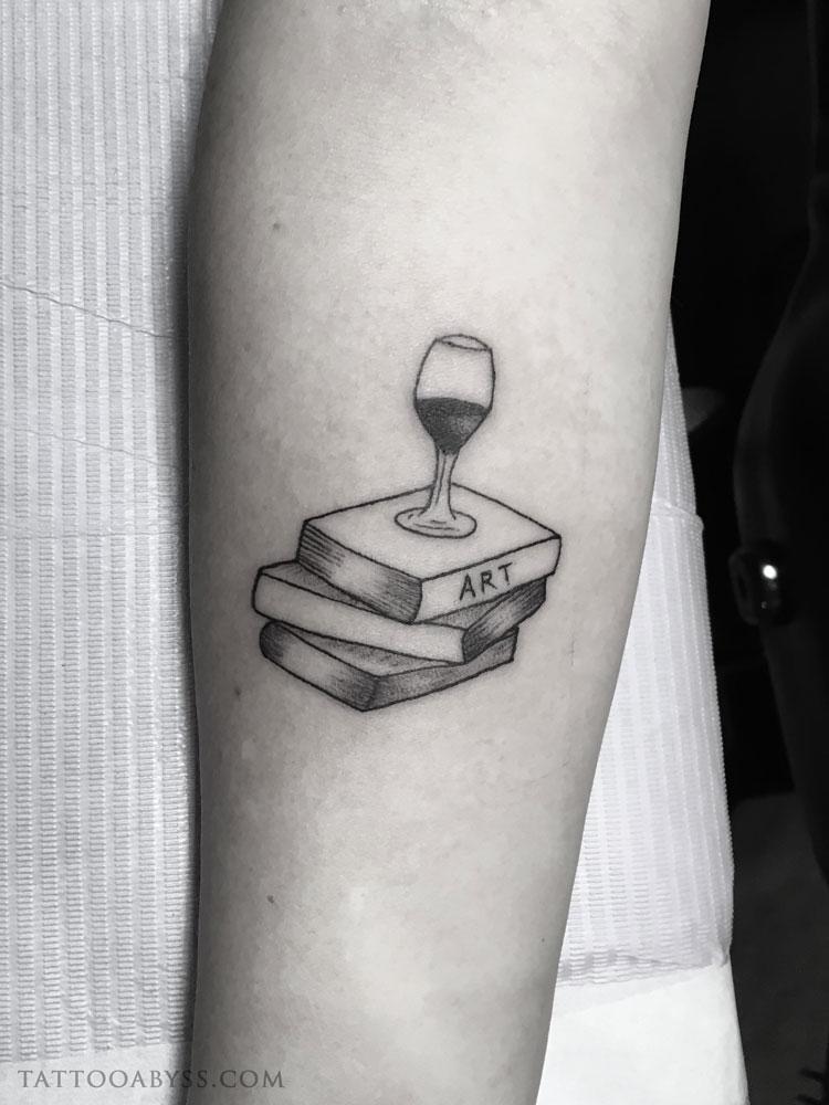 wine-books-angel-tattoo-abyss