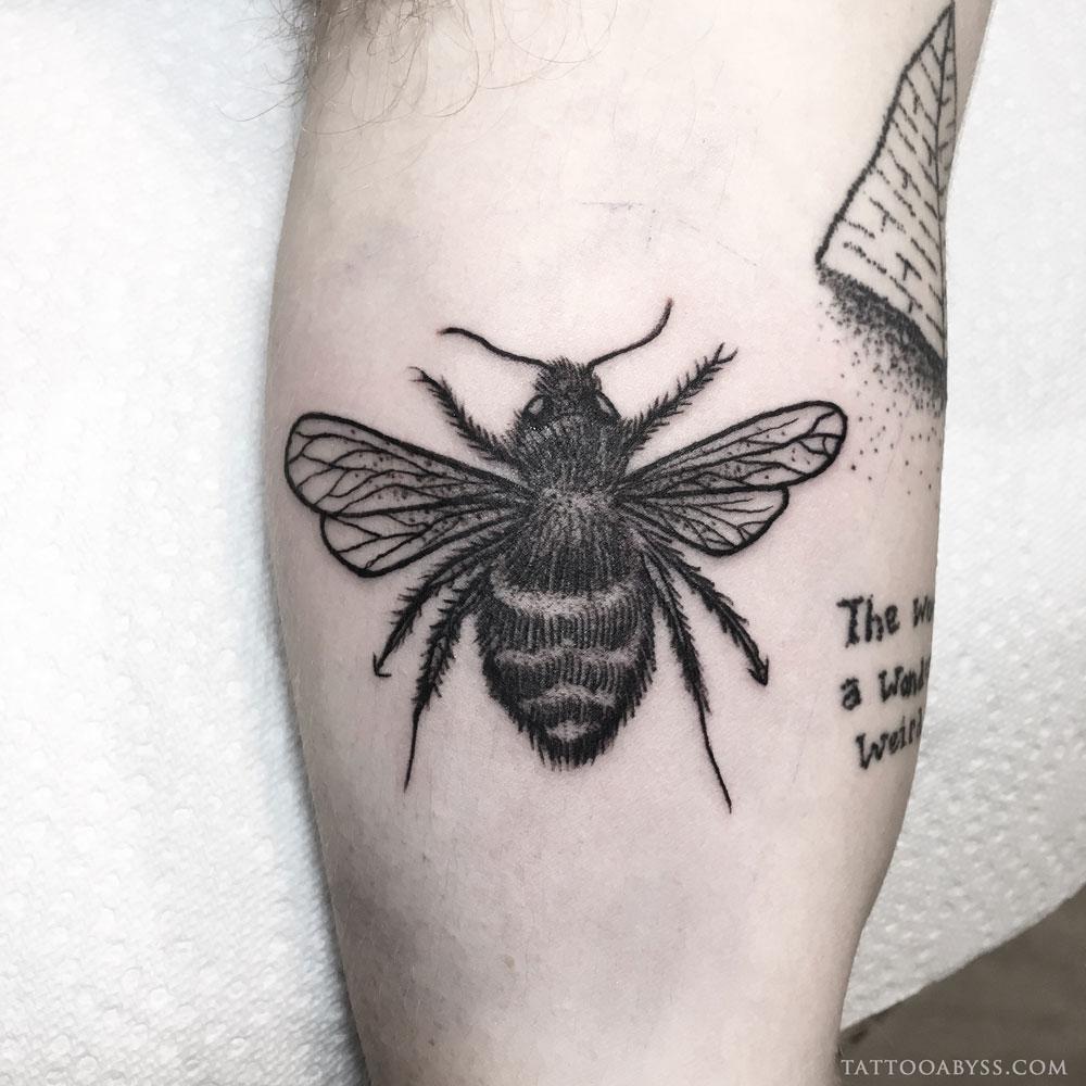 furry-bee-angel-tattoo-abyss