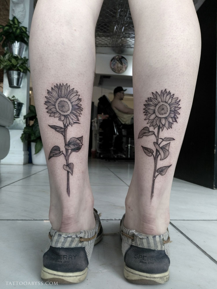 sunflower-camille-tattoo-abyss